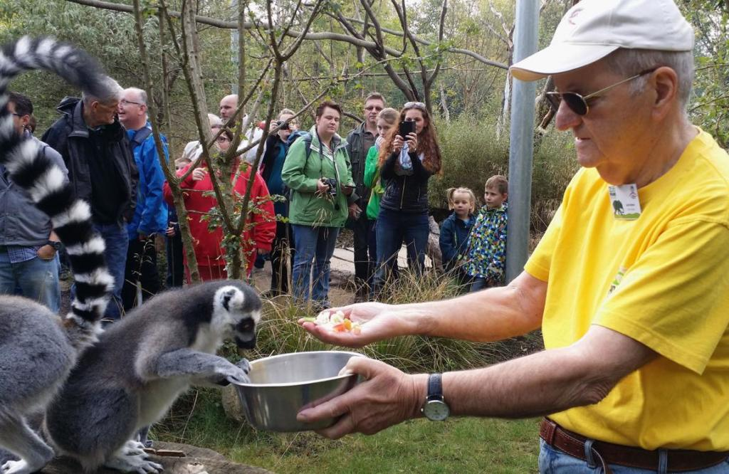 Zooparkfreunde Zoolotse Lutz Asmus